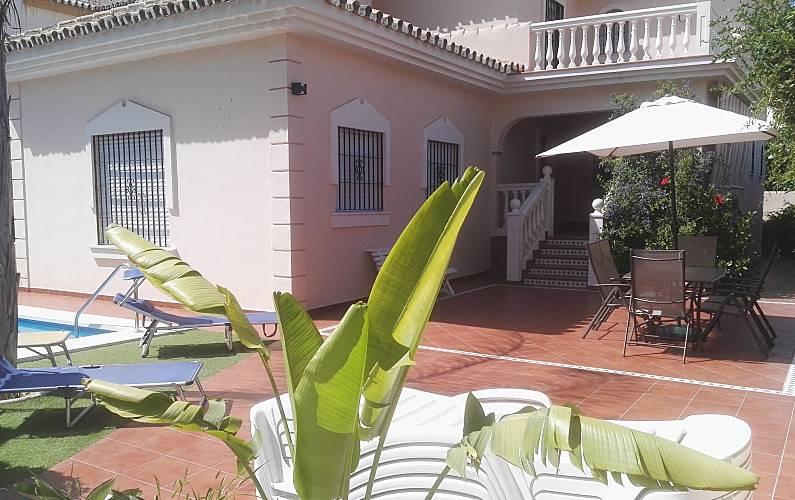 Magnifica villa con piscina riscaldata Malaga -