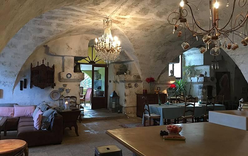 Casa Interior da casa Bocas do Ródano Maussane-les-Alpilles Villa rural - Interior da casa