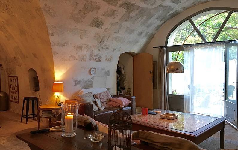 Casa Sala Bocas do Ródano Maussane-les-Alpilles Villa rural - Sala
