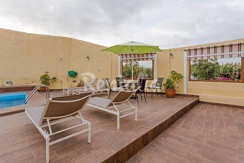 Apartamento en alquiler en gran canaria la furnia g ldar gran canaria - Piscinas naturales galdar ...