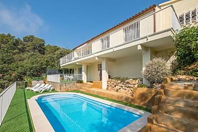 Villa con vista al mar a 150 m de la playa Girona/Gerona