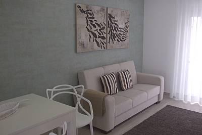 Appartamento per 2-3 persone a 30 m dalla spiaggia Leiria