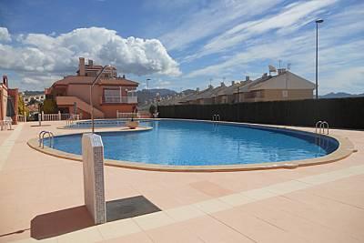Apartamento de 2 habitaciones a 200 m de la playa Murcia