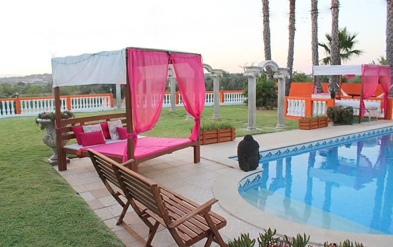 Quinta Jardim Algarve-Faro Silves Villa rural - Jardim