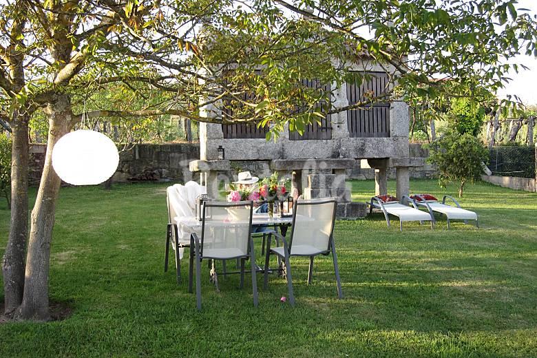 Casa Jardín Pontevedra Tomiño Casa en entorno rural