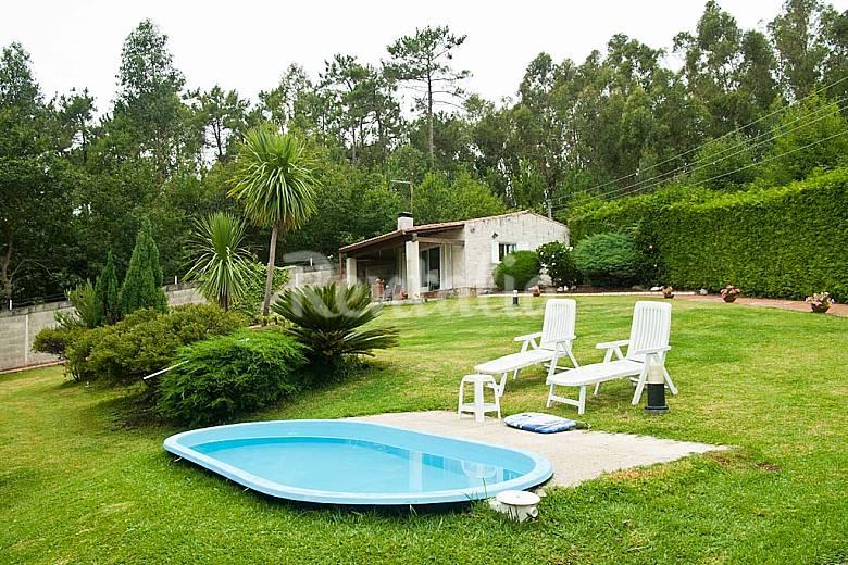 Casa jard n piscina rural playa 2 habitaciones fuente for Casas con jardin y piscina