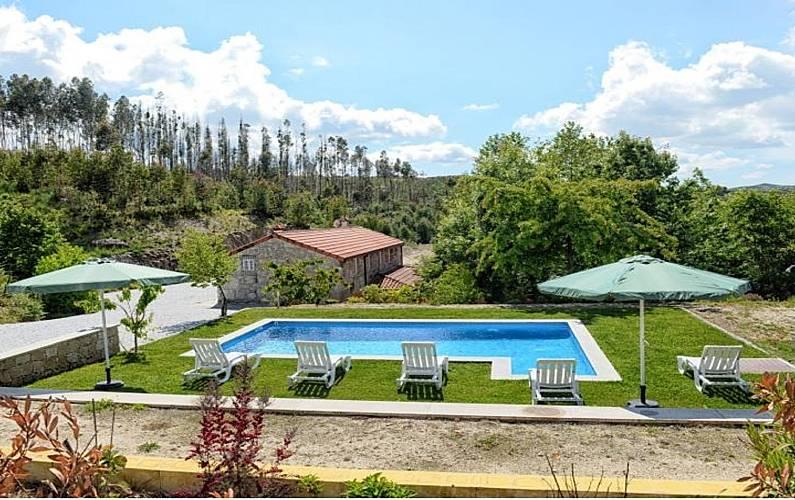 e90f4d12dd400 Casa para 11 personas con piscina - Ribas