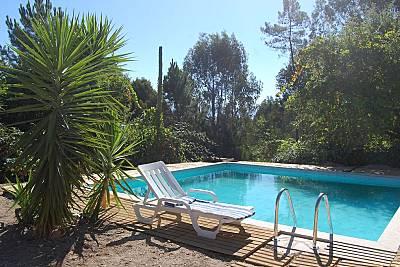 Casa para 5-10 pessoas com piscina Porto