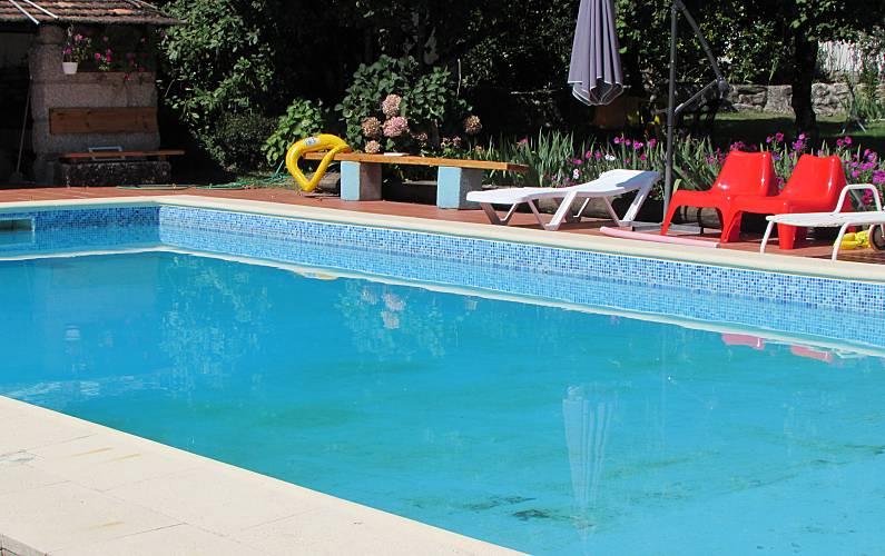 Zwembad In Huis : Huis voor personen met zwembad ferreira de aves sátão