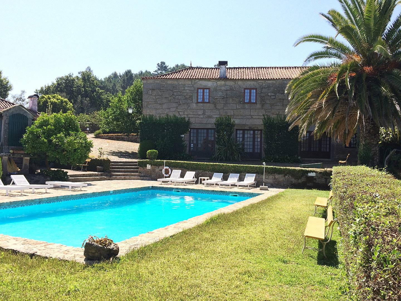 Casa para 2 3 personas con piscina s mon o viana do for Piscinas viana