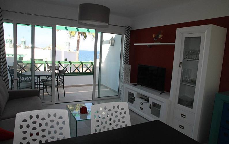 Refurbished apartment with seaview Gran Canaria - Living-room