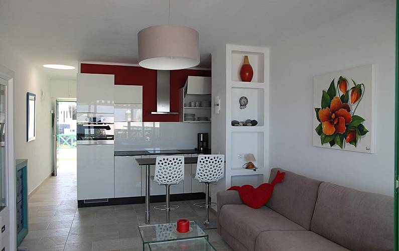 Refurbished Kitchen Gran Canaria San Bartolomé de Tirajana Apartment - Kitchen