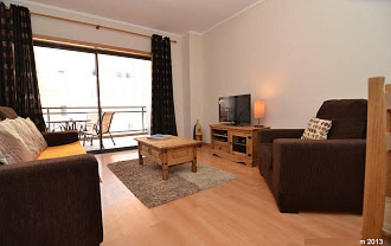 Apartamento com 1 quarto a 1000 m da praia Algarve-Faro - Sala