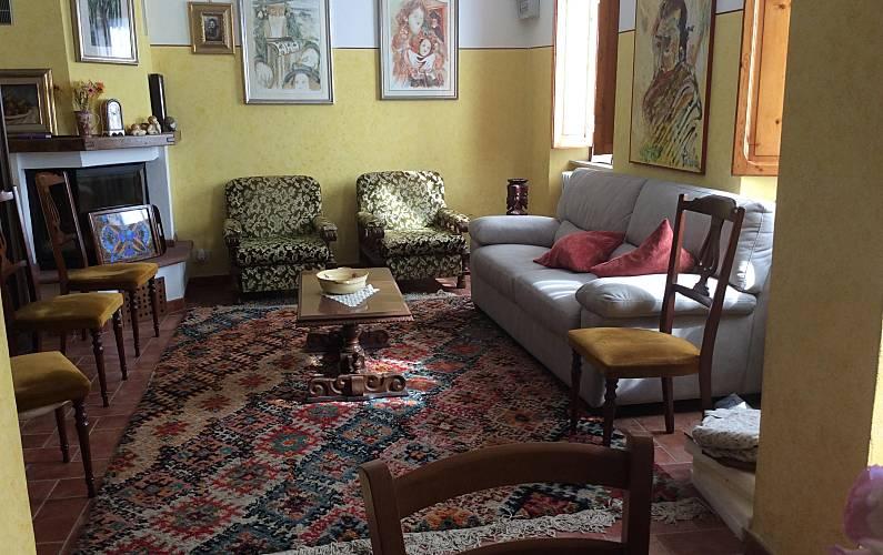 Casa Living-room Lucca Pescaglia Countryside villa - Living-room