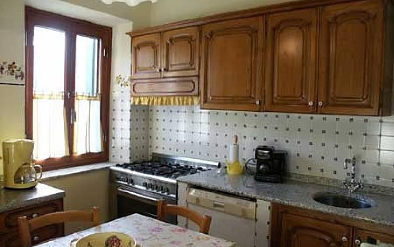 Vivenda Cozinha Luca Pescaglia Villa rural - Cozinha