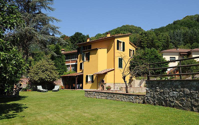 Vivenda Jardim Luca Pescaglia Villa rural - Jardim