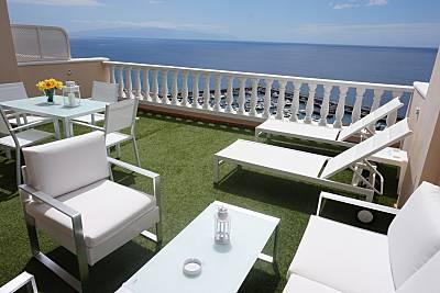 Apartament vistas al mar y acantilado a 180 m de la playa Tenerife