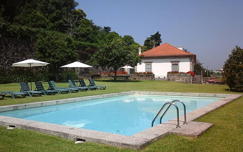 Villa en alquiler en santo tirso negrelos s o tom for Piscinas oporto