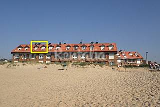 Apartment for rent on the beach front line Cantabria