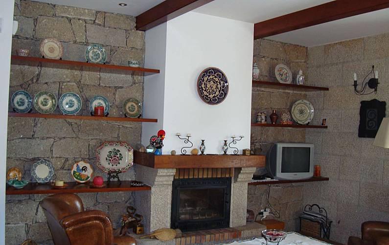 Casa Sala Aveiro Sever do Vouga Villa rural - Sala