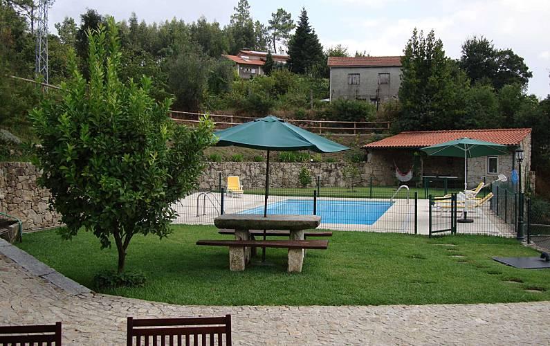 Casa Jardim Aveiro Sever do Vouga Villa rural - Jardim