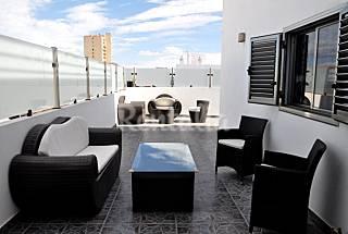 Ático de lujo 4-7 pax en la Playa de Las Canteras Gran Canaria