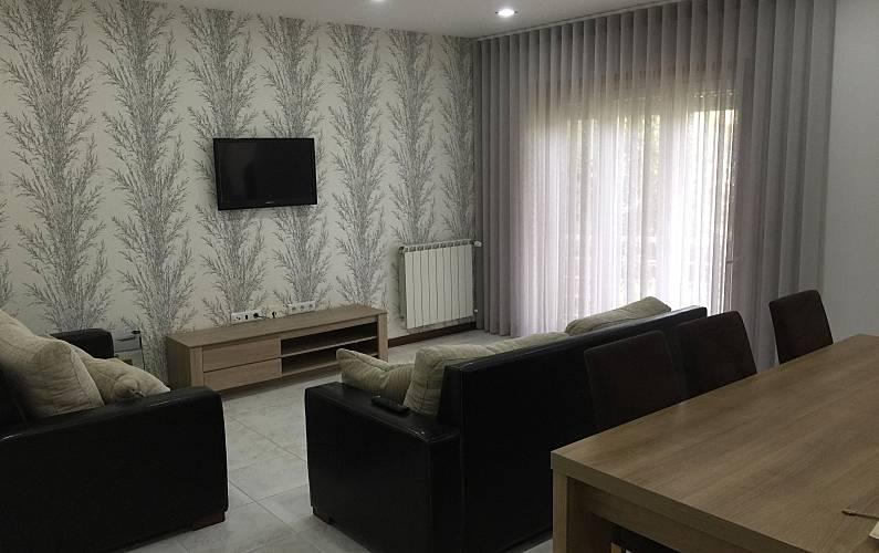 T3 Sala Braga Esposende Apartamento - Sala