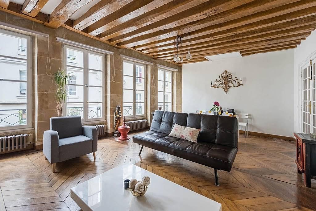 Appartement en location en le de france paris 2e paris - Location appartement meuble ile de france ...
