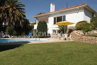 Heated pool, calm view, 5 min to beaches and sights Lisbon