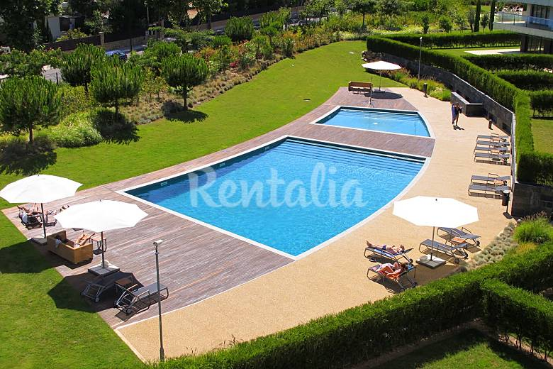 Scala Apartment In Luxury Condominium With Pools Cascais