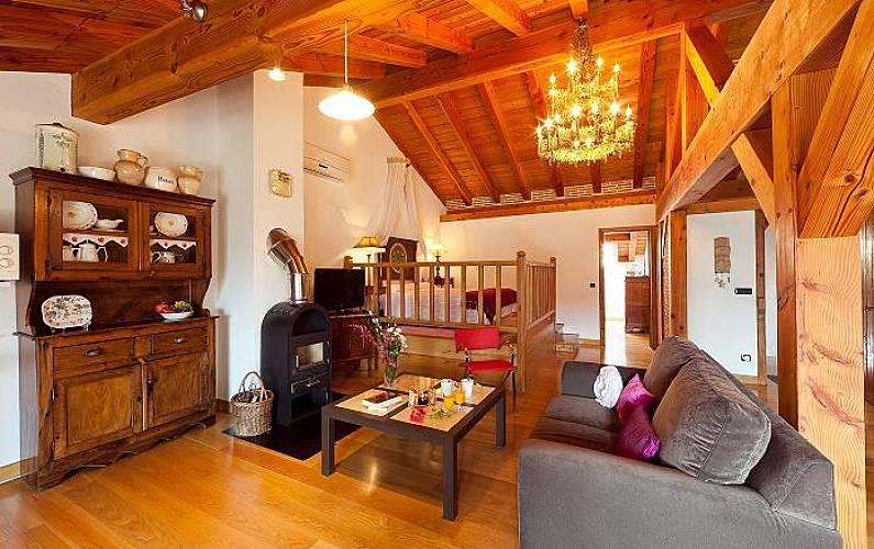 5 Salón Vizcaya/Bizkaia Ea Casa en entorno rural - Salón