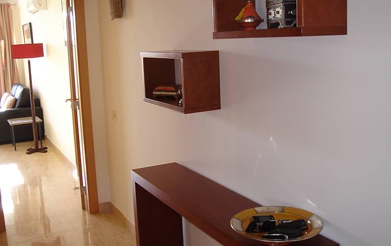 Acolhedor Interior da casa Algarve-Faro Lagos Apartamento - Interior da casa