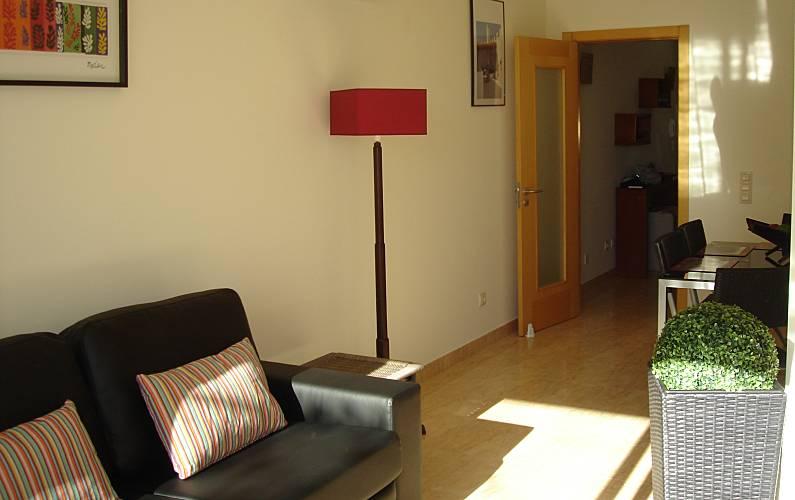 Acolhedor Sala Algarve-Faro Lagos Apartamento - Sala