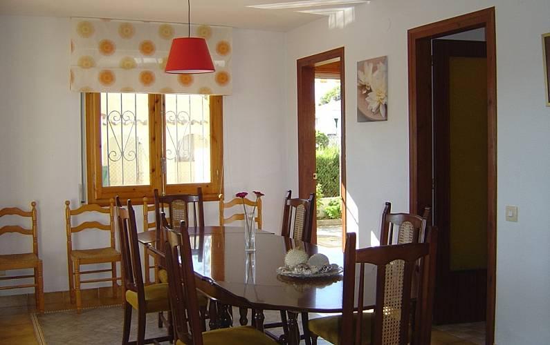Villa Comedor Tarragona L' Ampolla villa - Comedor