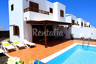 A beautiful detached villa with a private swimming pool Lanzarote