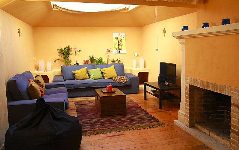 Holiday house Lisbon, with charm, old town Lisbon - Living-room