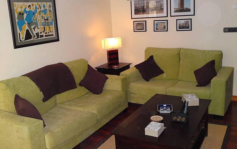 Piso Salón A Coruña/La Coruña A Coruña Apartamento - Salón