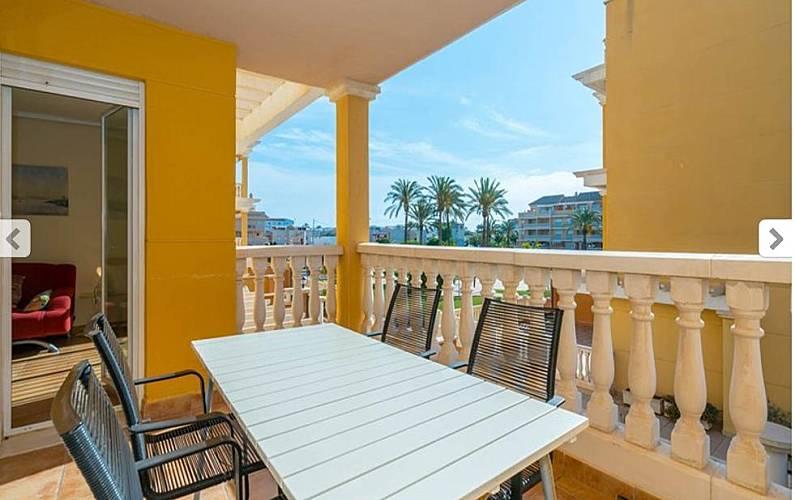 Apartment Living-room Alicante Dénia Apartment - Living-room