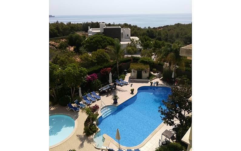 Apartamento com 1 quarto a 300 m da praia Algarve-Faro - Piscina