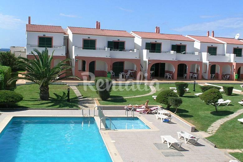 Apartamento en alquiler a 30 mts de la playa calan blanes ciutadella de menorca menorca - Apartamentos voramar menorca ...