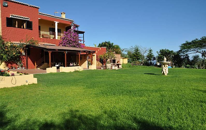 Villa Garden Gran Canaria Moya Countryside villa - Garden