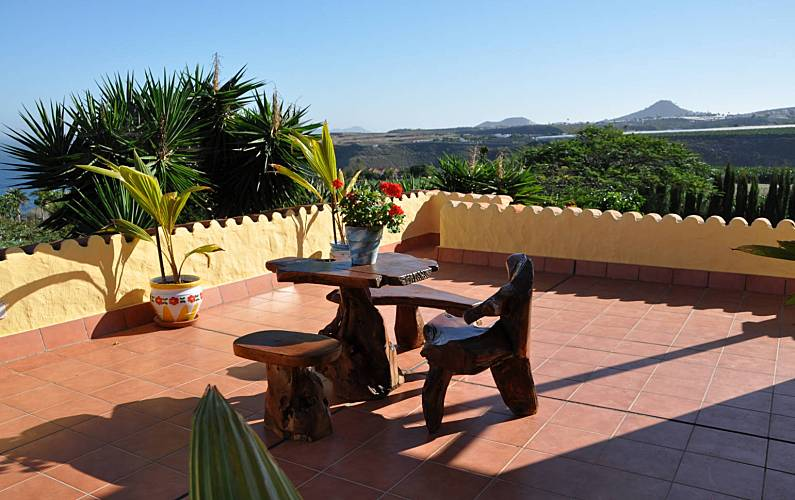 Villa Terrace Gran Canaria Moya Countryside villa - Terrace