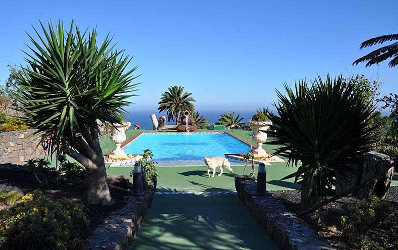 Villa Swimming pool Gran Canaria Moya Countryside villa - Swimming pool