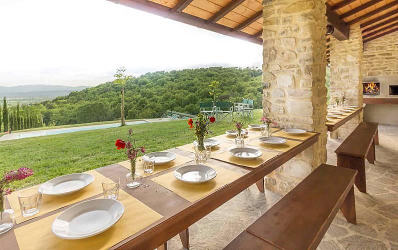 Villa Cantone, SPA privata e piscina privata Arezzo