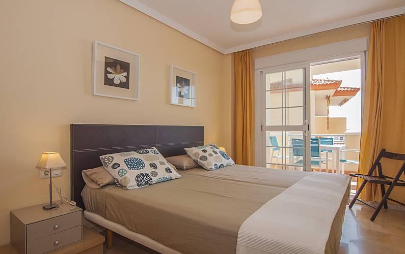 Apartamento Quarto Málaga Benalmádena Apartamento - Quarto