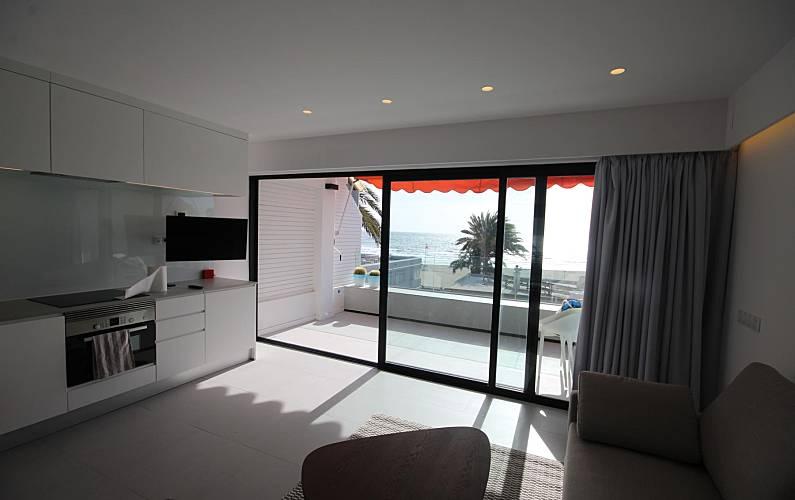 Apartment Living-room Gran Canaria San Bartolomé de Tirajana Apartment - Living-room