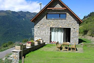 Casa Parte esterna della casa Lleida Vilamòs Villa di campagna