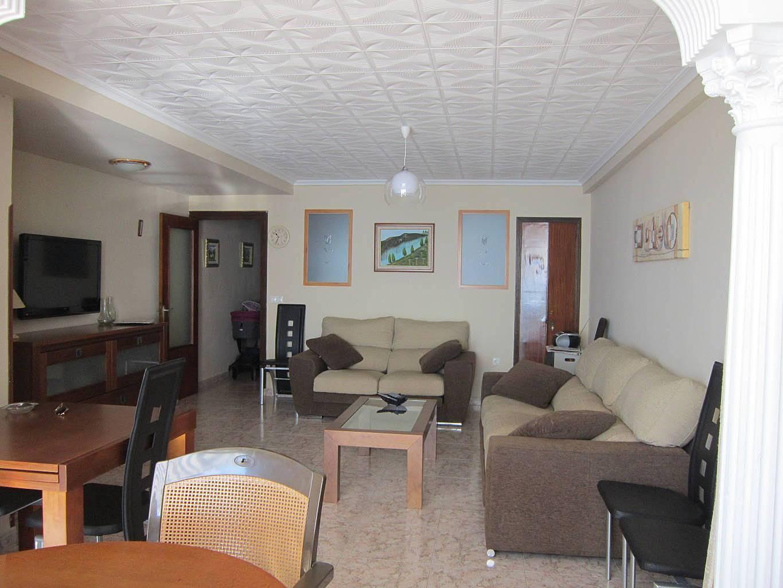Apartamento en alquiler en 1a l nea de playa benidorm alicante costa blanca - Apartamentos de alquiler en benidorm baratos ...
