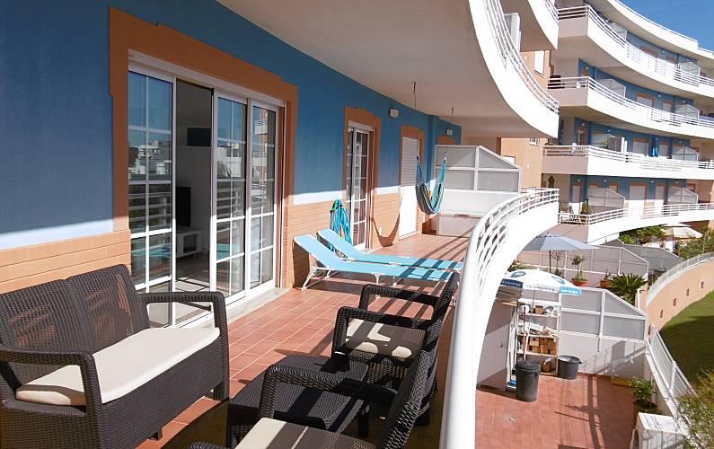 Apartamento com 2 quartos a 500 m da praia Algarve-Faro - Terraço