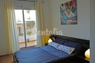 Apart. nuevo 1 hab 2/4 pax a 300 m playa       Girona/Gerona